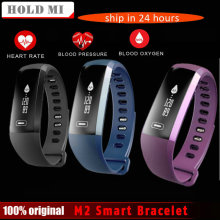 Hold Mi M2 VS R5 PRO Smart Bracelet wrist Band Heart rate Blood Pressure Oxygen Oximeter Sport Bracelet Watch iOS Android(China)