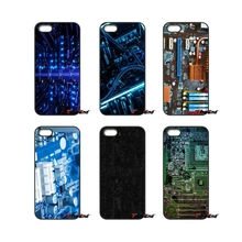For iPod Touch iPhone 4 4S 5 5S 5C SE 6 6S 7 Plus Samung Galaxy A3 A5 J3 J5 J7 2016 2017 Fashion Motherboard computer Case Cover(China)