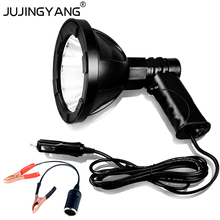 Bright Fishing lamp,30W T6 LED marine Search light,12v LED Portable hunting Searchlight,Portable led Spotlight for Camping,Boat(China)