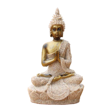 H 8 cm cheap small sandstone Thailand style buddha statue for home office decor novelty crafts gift 12137