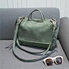 Women Motorcycle Bags Fashion Designers Nubuck Leather Handbags Vintage Women Messenger Bags Casual Ladies Bags XK11