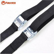 1-8 Meters Car Roof Box Luggage Racks Lashing Strap Motorcycle Cargo Tie Down Rope Straps For Outdoor Camping Canoes and Kayaks(China)