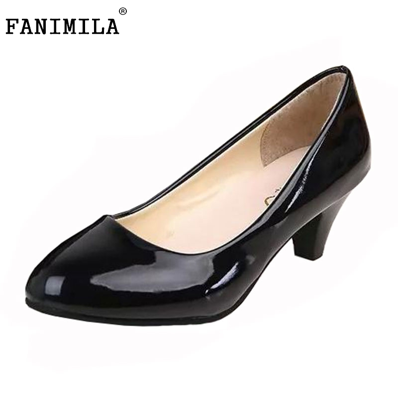 women patent leather high heel shoes pointed toe bowknot court footwear sexy fashion heeled pumps heels shoes size 35-42 WE0186<br><br>Aliexpress
