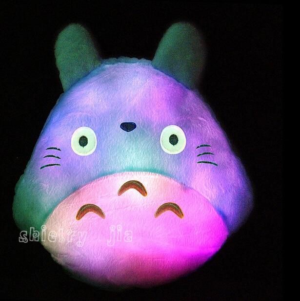 New Totoro Led Luminous Plush Pillow Lovely Totoro Toy Wedding Gift Christmas Gift Birthday Gift<br><br>Aliexpress