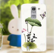 Painted style soft silicon mobile phone Case Cover FoR  LG G pro2  free shipping