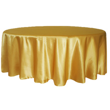 "high quality weight  0.4 KG Satin 90"" Round Tableclothes Table Cloth Wedding Banquet Wedding Party Decor 15 colors/ custom color"
