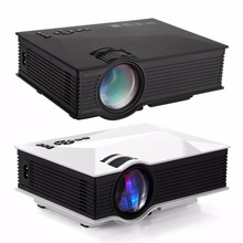 Original UC46 UC46+ Portable Mini LED Projector WIFI Wireless Home Theater Multimedia Video PC USB SD HDMI Proyector Beamer
