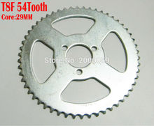 T8F 54Tooth Core 29mm Chain Sprocket Electric Scooter 47CC 49cc Dirt Kid Cross Bike ATV Quad Mini Moto - MingYang Motor&Accessories co,.LTD store