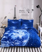 Hipster galaxy 3D bedding set universe outer space themed galaxy print bedlinen duvet cover & pillow case twin queen full size.