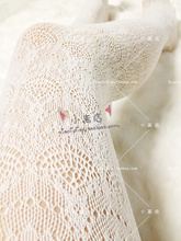 Buy Princess Sweet Lolita pantyhose Vintage lace tights elastic carved cutout velvet pantyhose sexy lace pantyhose LKW4-1
