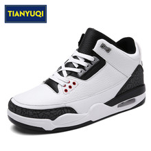 TIANYUQI Big Size 39-47 Outdoor Sneakers Professional Basketball Shoes For Men Autumn Air Dam Air Damping Athletic Sport Shoes(China)