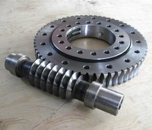 Slewing ring ball bearing worm and worm wheel gear manufacturing process worm gears design
