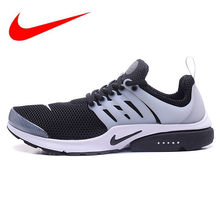 buy popular 7289c 67a6f Original Nike Air Presto Mens Black and White Oreo  All White Running  Shoes Sport Sneakers