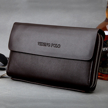 X-Online hot sale good quality man big clutch male fashion hand bag men business day clutches purse