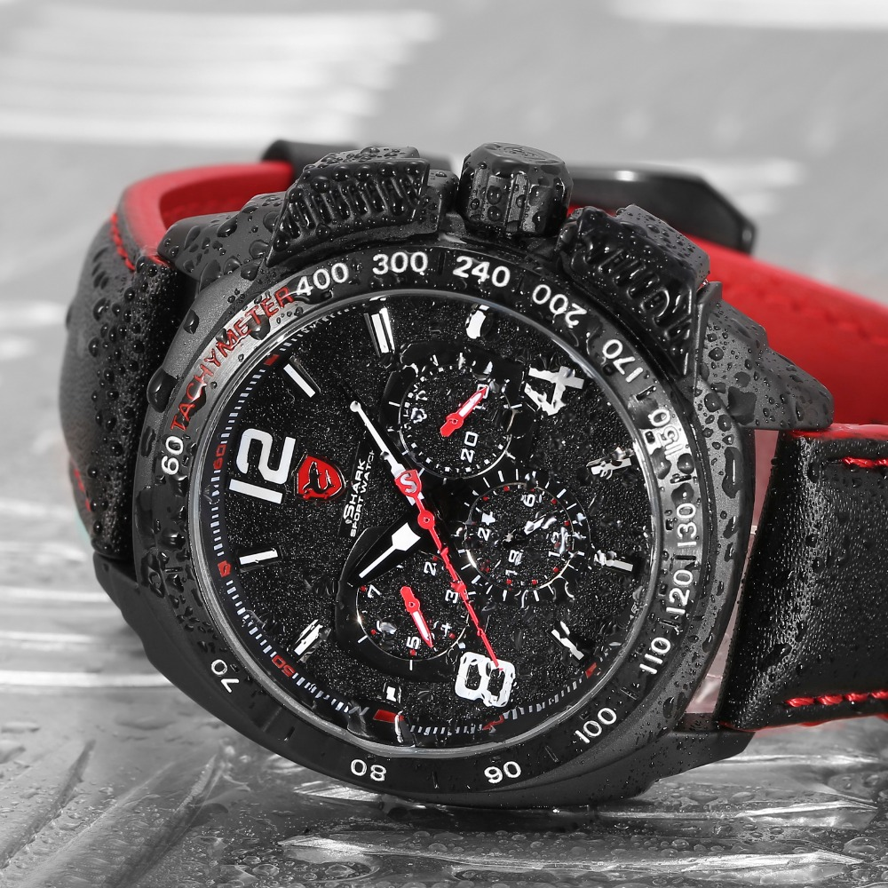 HTB1gCCxRFXXXXcBaXXXq6xXFXXX4 - Tiger Shark 3rd Generation Sport Watch - Red SH417