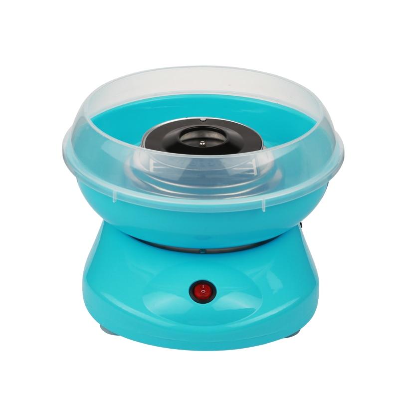 Electric DIY Home Cotton Candy Maker Mini Portable Cotton Suager Machine EU 220V<br>