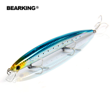 BearKing 180mm/26g,5pcs/.lot. Color send randomly! 2016 good fishing lures minnow,quality professional minnow