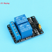 1Pcs DC 12V 2 Channel Relay Module Low Level Optocoupler Isolation 12V Relay Module Development Board Arduino