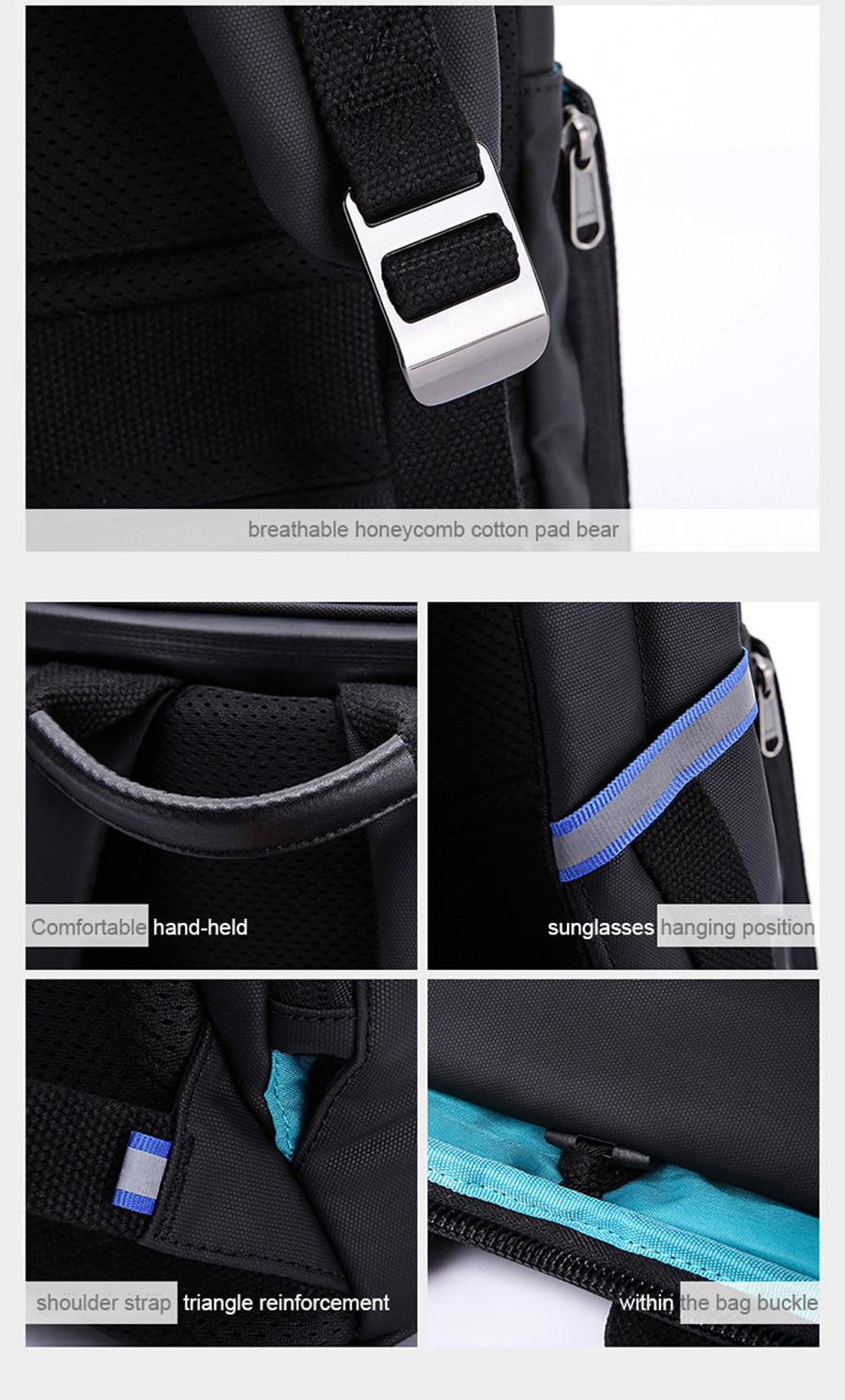 DSLR Camera Backpacks Photo Video Case PU Leather 15.6-17inch Laptop Backpack with Camera liner Package Man Fashion Computer Bag