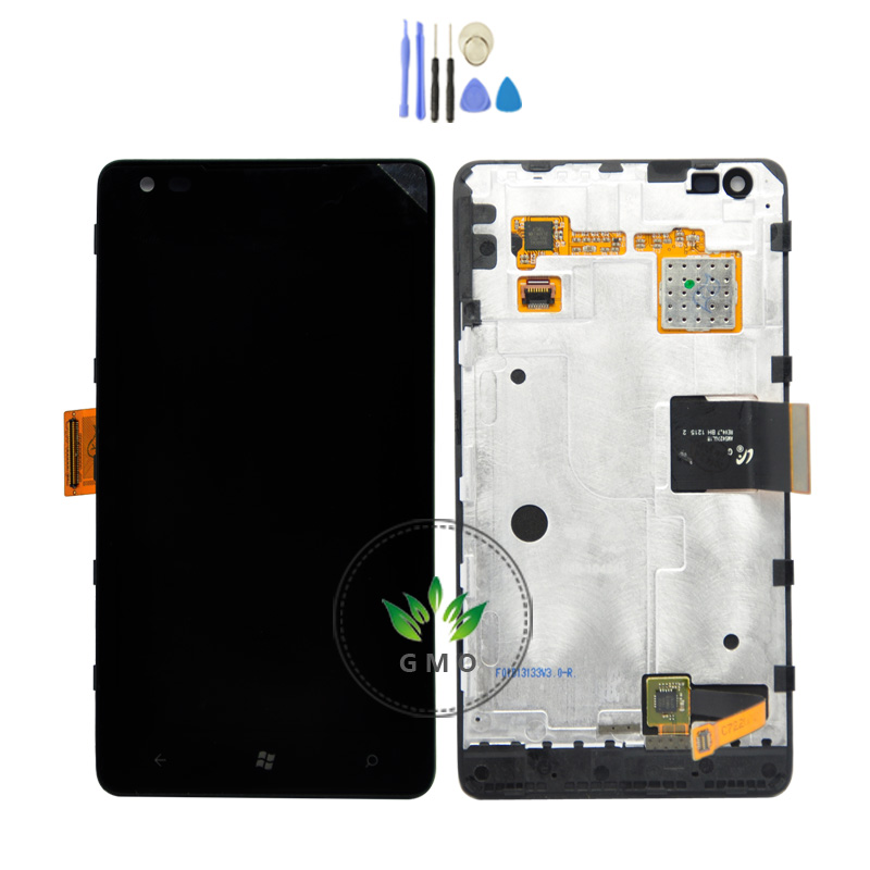 LCD For Nokia Lumia 900 LCD Display + Touch Screen Digitizer + Frame Assembly +Tools <br><br>Aliexpress