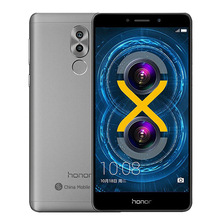 Original Huawei Honor 6X 3G RAM 32G ROM Dual Rear Camera LTE Mobile Phone Octa Core 5.5 Inch 1920x1080P Fringerprint(China)