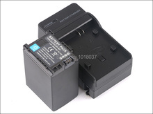 BP-827 BP 827 Rechargeable Camera Digital Battery + Charger For Canon VIXIA HF S10 S11 S20 S21 S30 S100 S200 XA10