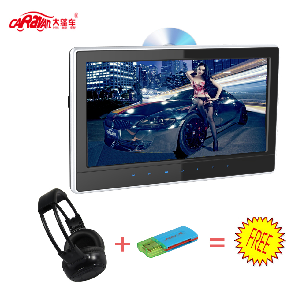"Caravan 11.6"" Ultra-thin HD headrest DVD with HDMI/touch button(China (Mainland))"