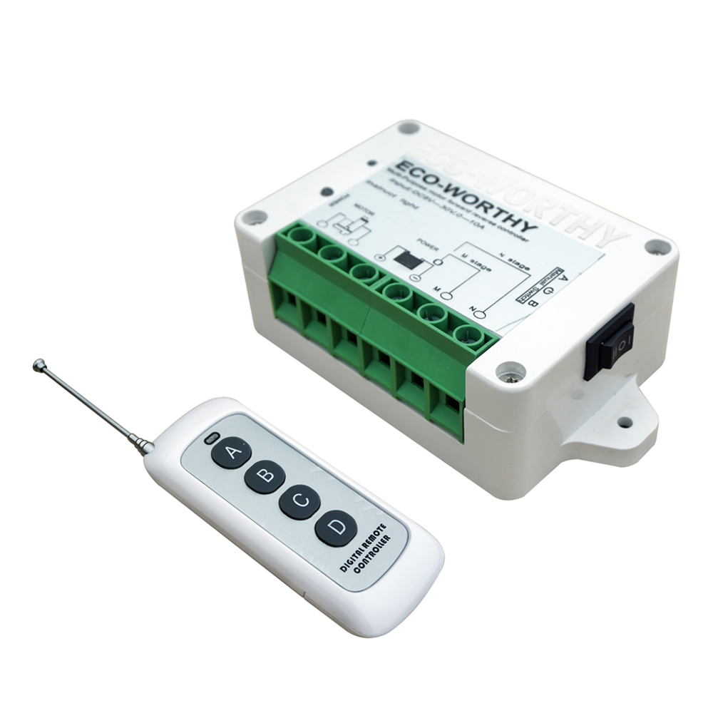 AC100-240V Wireless Remote Kit Linear Actuators motor controller door Car opener<br>