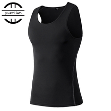 New Arrival PRO Basketball Sports Vest Men's Sports Shirt Sweat Quick-Drying Yoga Vest Tight Clothes For Sports