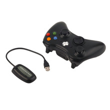 Beautiful 2.4G Wireless Gamepad Joypad Game Remote Controller Joystick With Pc Reciever For Microsoft For Xbox 360 Console(China)