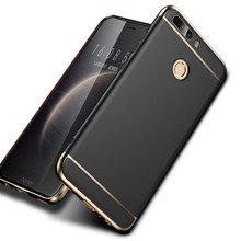 Case For Huawei Honor 8 luxury Hard PC 3 in 1 Back Cover Full Protection Case For Huawei Honor 8 Case Mobile phone Accessories(China)