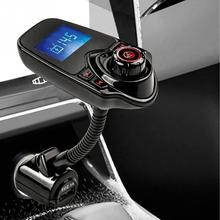 Car FM Transmitter T10 car MP3 T10 Bluetooth hands-free Bluetooth MP3 card car MP3 Equipped With Professional High-Performance(China)
