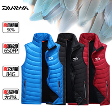 2017 NEW DAIWA Fishing down jacke vest White duck down thicken Breathable Autumn And Winter DAWA Keep warm DAYIWA Free shipping