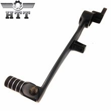 Aftermarket free shipping motorcycle parts For Motorcycle Suzuki GSXR GSX-R 600 750 1000 Black Folding Brake Shift Pedal(China)