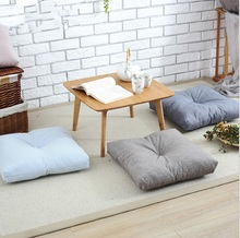 Japan Style Cotton&Linen Yoga Cushion Meditation Cushion Square Bay Cushion  Chair Cushion  45*45cm  4 colors