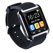 Wearable Bt-notification Anti-lost U80 Smart Wrist Watch Support Android and IOS Bluetooth Watches Phone(China)