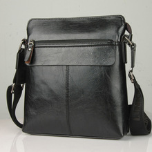 PU Leather Messenger Bag Business Casual Shoulder Satchel Men's Handbag Bags 100 Percent Quality Factory Low Price Direct Sales(China)