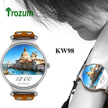 Buy Trozum KW98 SIM Smart Watch Android 5.1 3G WIFI GPS Watch MTK6580 Smart watch iOS Android Samsung Gear S3 Xiaomi PK KW99 for $107.41 in AliExpress store