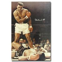 "Muhammad Ali-Haj Boxing Boxer Champion Art Silk Fabric Poster Print 12x18 24x36"" Sports Pictures For Bedroom Decor 007"