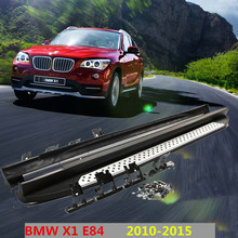 For BMW X1 E84 2010-2015 Car Running Boards Auto Side Step Bar Pedals High Quality Brand New Original Design Nerf Bars(China)