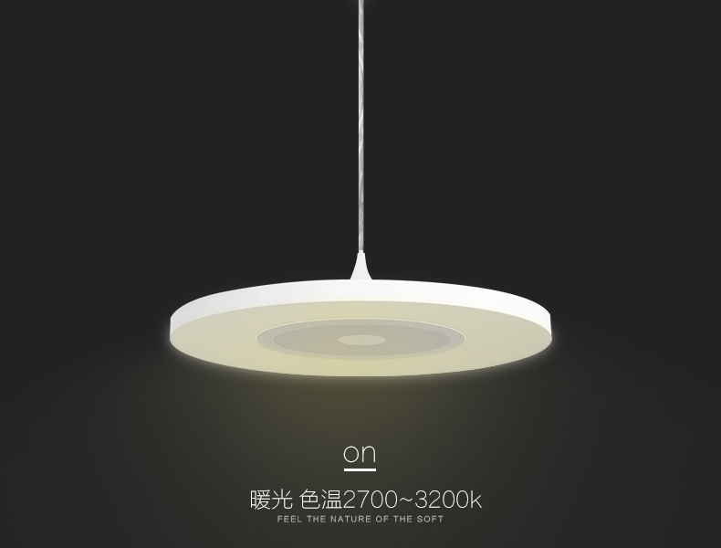 30W LED Pendant Lights Diffuse in 40cm Acrylics with Touch Control <br><br>Aliexpress