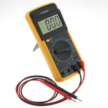 Portable DT9208A 1999 Counts LCD Display Multimeter Electric Handheld AC/DC Resistance Capacitance Voltmeter Ammeter