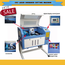 factory price CNC laser machine laser cutter /laser engraving machine/acrylic cutting machine foam cutting/ rubber stamp