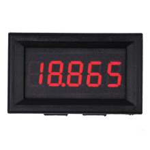 Car Red LED digital display DC 0.000-33.000V Motorcycle Voltage Meter 5 bit Volt panel Gauge Voltmeter tester(China)