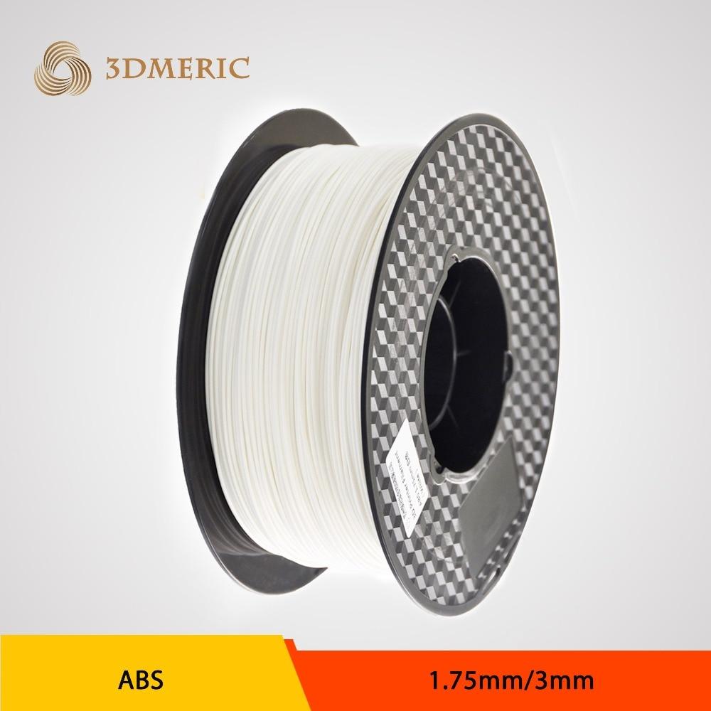 3d printer filament white color dual extruder 1.75mm/3mm abs filament printer 3d parts for createbot,makerbot,reprap etc<br><br>Aliexpress