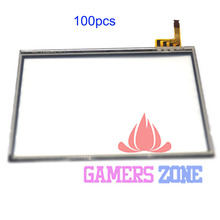 100pcs Touch Screen LCD Replacement repair parts For DSL DS Lite NDS Lite NDSL