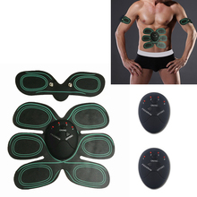 Multi-Function Electric Smart EMS For Man Fitness Abdominal Arm Exerciser Muscles Intensive Body Massager Loss Weight Device A35(China)