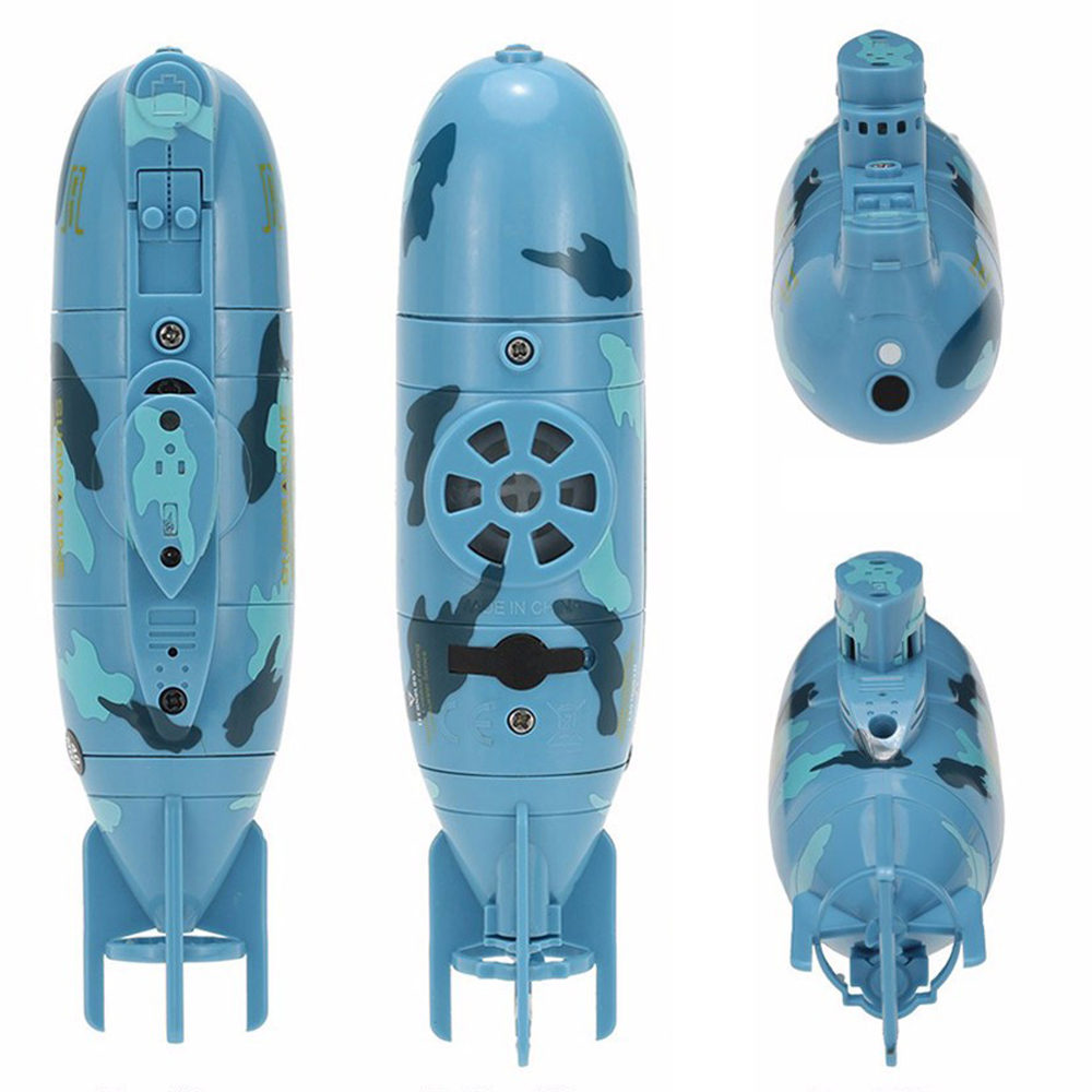 RC Submarine 6 Channels High Speed Radio Remote Control Electric Mini Radio Control Submarine Children Toy Boys Model Toys Gifts 8