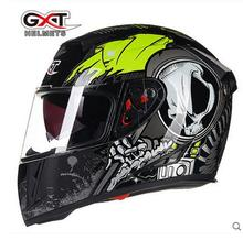 GXT G358 Classic Skull motocross full face Helmet, motorcycle MOTO electric bicycle safety headpiece