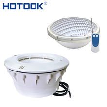 HOTOOK Underwater Lights RGB Par56 LED Swimming Pool Light IP68 Bulb Lamp 35W Remote Linear Niche For Pond Fountain Aquarium(China)
